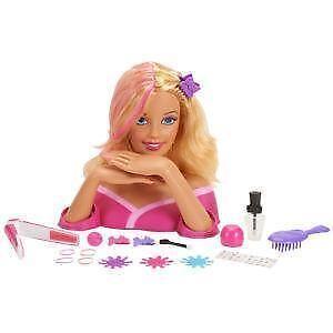 Enjoyable Barbie Head Ebay Short Hairstyles Gunalazisus