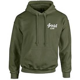 Sugg life khaki green hoody medium. *BRAND NEW*