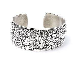 Antique Sterling Silver Cuff Bracelet