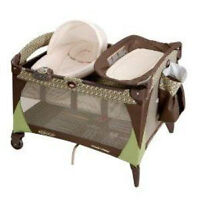 Playpen with napper and change table all-in-one