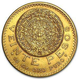 Mexican Peso Gold Coin Ebay