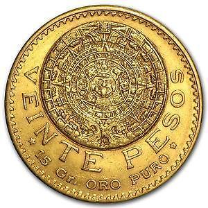 Mexican Peso Gold Coin