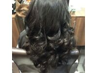 Russian Slavic Hair Extensions / Weave / Micro Rings / Keratin Bonds/ Tape / Clip-ins / Curly Blow