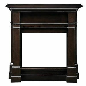 "HAMPTON BAY 26"" FIREPLACE MANTLE BROWN"