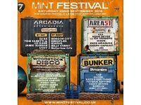 Mint festival tickets x2
