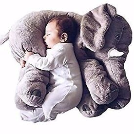 Baby Kids Children Toddler Sleeping Elephant Stuffed Plush Pillows great for xmas BRAN NEW
