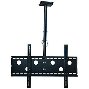 "VERSATILE LED/LCD/PLASMA CEILING MOUNT BRACKET - 30"" to 65"""