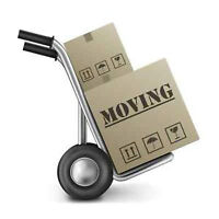 Two experienced movers with truck , $75/hr .