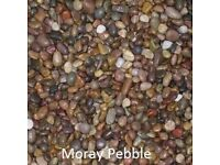 Scottish Pebble(Moray) 20m Garden chips