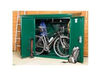 Asgard bike shed for 3 bikes