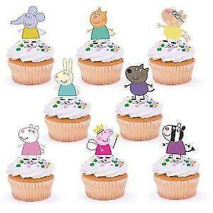 Peppa Pig Edible Cake Toppers | eBay