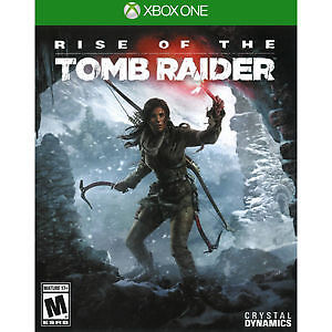 Rise of the Tomb Raider on Xbox One for sale like new for 35$.