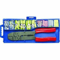 Electrical Connecter Crimping Plier Tool Set - Brand New