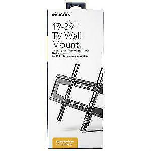 Insignia 19'' - 39'' Fixed Flat Panel TV Wall Mount (NS-TVMFP12-