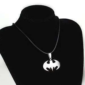 New Stainless Steel Superman Or Batman Ring And Necklace Set Windsor Region Ontario image 3