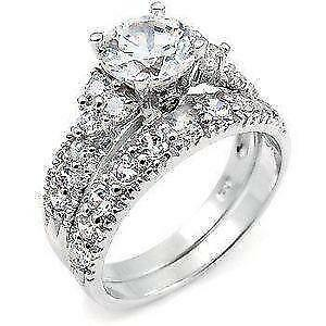 rings diamond square t frame jewellers peoples w sterling ring composite in silver c v