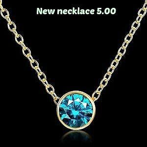 necklace Birthstone for may1 dec brand new in box first