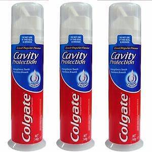 6 x Colgate Cavity Protection Toothpaste Pump 140g St Clair Penrith Area Preview