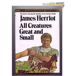 "BOOK:""All Creatures Great and Small""(20th ANNIVERSARY Edition)"