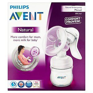 Avent Manual breast pump 35$