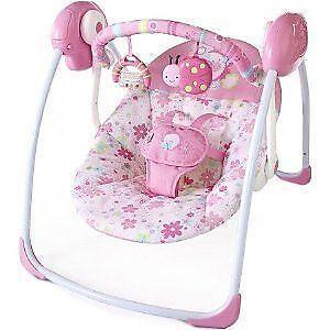 Pink Baby Swing Ebay