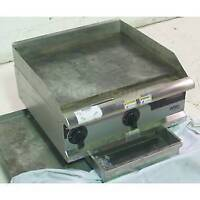 Looking to purchase a flat top gas grill.
