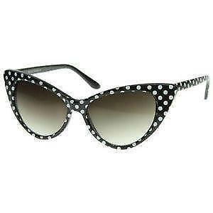 6924de474a White Cat Eye Sunglasses