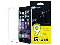 APPLE IPHONE TEMPERED GLASS 9H - BULK - CAN DELIVER