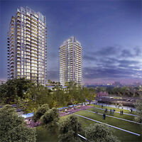 Park Towers Condos at IQ,  Islington and Queensway