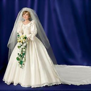 18 inch Princess Diana Bride Doll - Danbury Mint