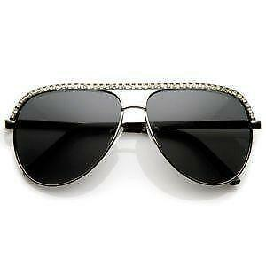 6c529723a1 White Rhinestone Sunglasses