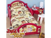 Jake and the Netherland Pirates toddler bed