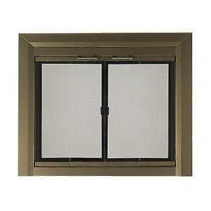 Fireplace Replacement Doors fireplace glass | ebay