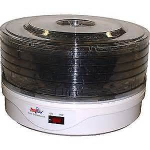 Food Dehydrator: Total Chef Deluxe 5-Tray