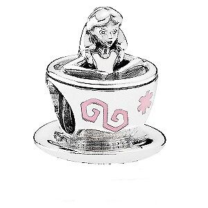 Pandora Sterling Silver Disney Alice in Wonderland Charm