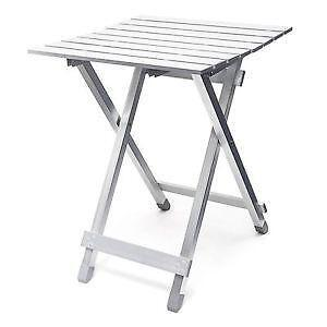 Folding tables camping occasional furniture ebay for Beistelltisch 40x40