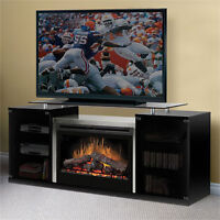 Dimplex Fireplace and Media Unit