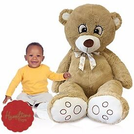 GIANT 5FT 5 PLUSH BAILEY BEAR