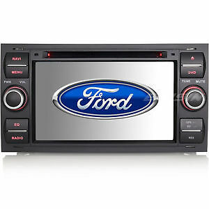 autoradio gps ford focus c max s max fiesta kuga 3g usb sd mp3 divx no dogana ebay. Black Bedroom Furniture Sets. Home Design Ideas