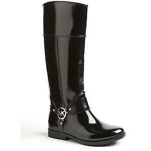 Practically New Size 8 Michael Kors Tall Fulton Harness Rainboot