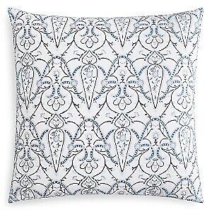 Jr By John Robshaw Acala 100 Cotton Pillow Sham - EURO - Indigo / Gray - $50.99
