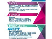 3x Wireless VIP Sunday Tickets - £420 for the set/£150 each