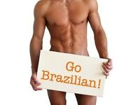 Male waxing from male therapist