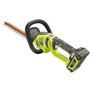 cordless hedge trimmer 2018