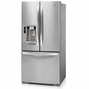 """LG AND SAMSUNG STAINLESS 36"""" WIDE FRIDGES!"""