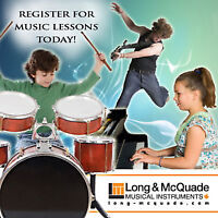 DRUM LESSONS available at Long & McQuade North Bay!