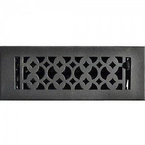 CAST IRON AND ALUMINUM FLOOR REGISTERS