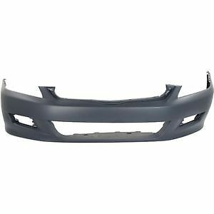 HONDA ACCORD BUMPER FR PRIMED CPE 06-07