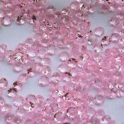 Pink Wedding Table Confetti