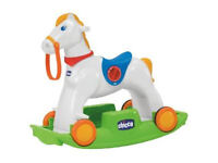 Chicco rodeo riding/rocking horse